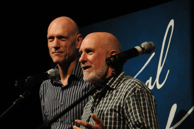 Peter Garrett and Warren Fahey