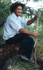 Yidumduma Bill Harney<br /><br /><br /><br /> photo courtesy Alex Gillen via Simply Australia