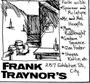 Traynor advert