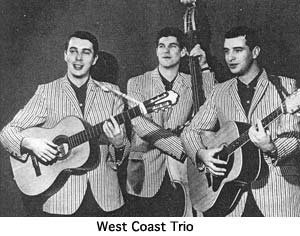 West Coast trio