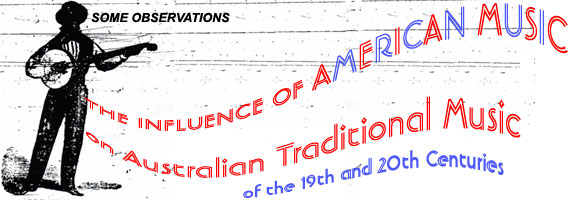 American influences on Australian traditional music