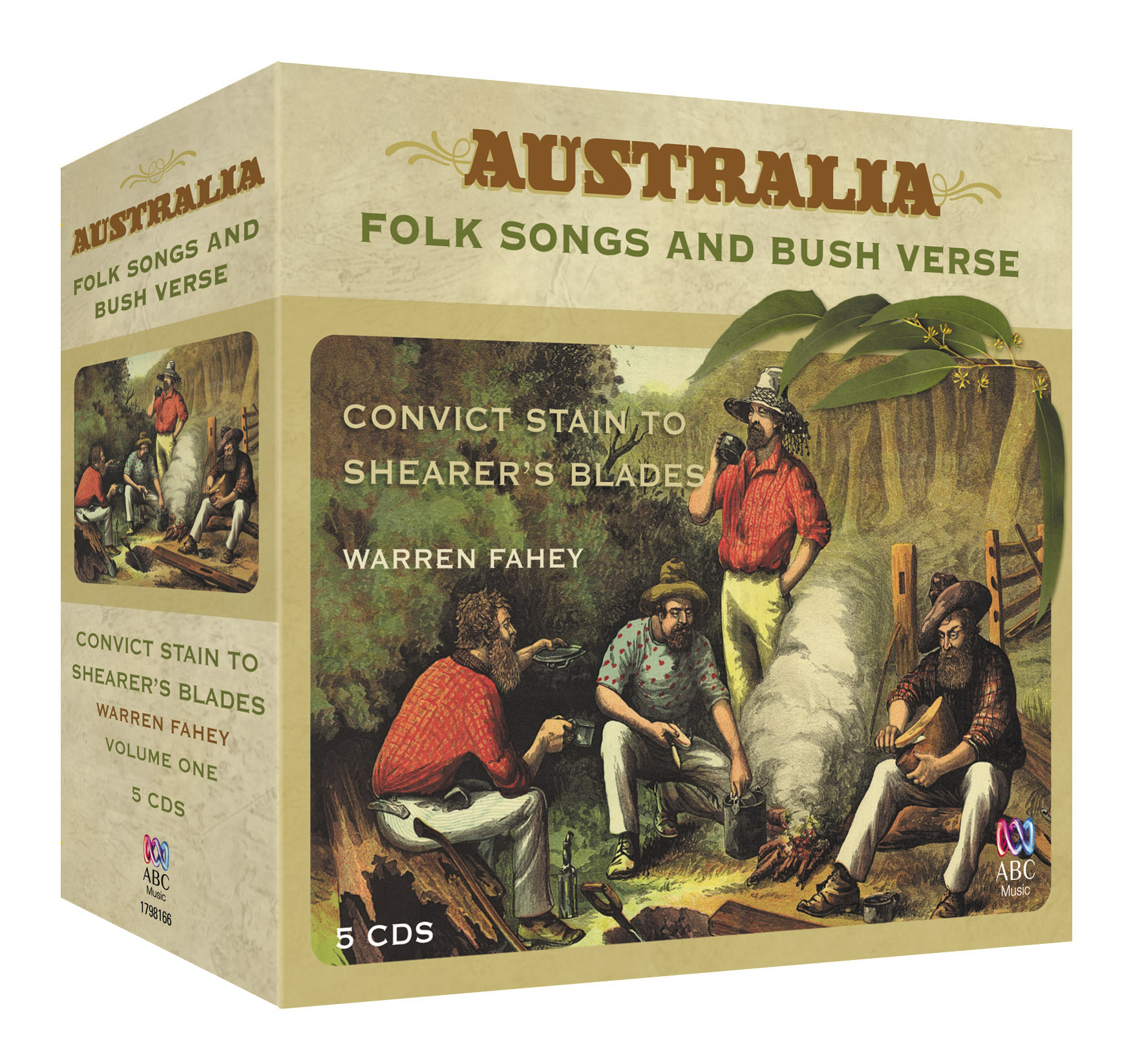 Australia: Its Folk Songs & Bush Verse: From Convict Chains to Shearer's  Blades  Box One